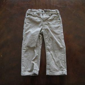 Janie & Jack 18-24m tan corduroy khaki pants